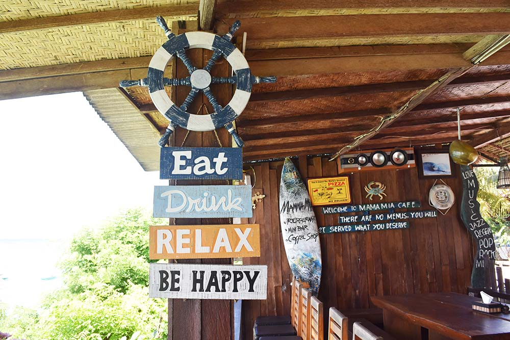 This was basically our mantra while we were on Lembongan...