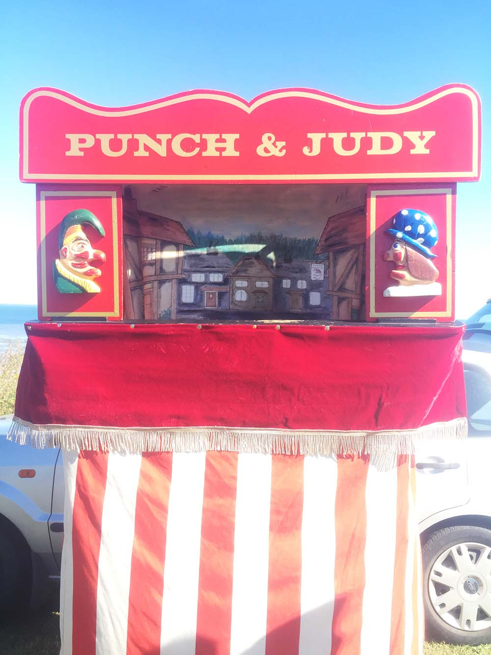 Seaside funfairs (and a real Punch & Judy show!)