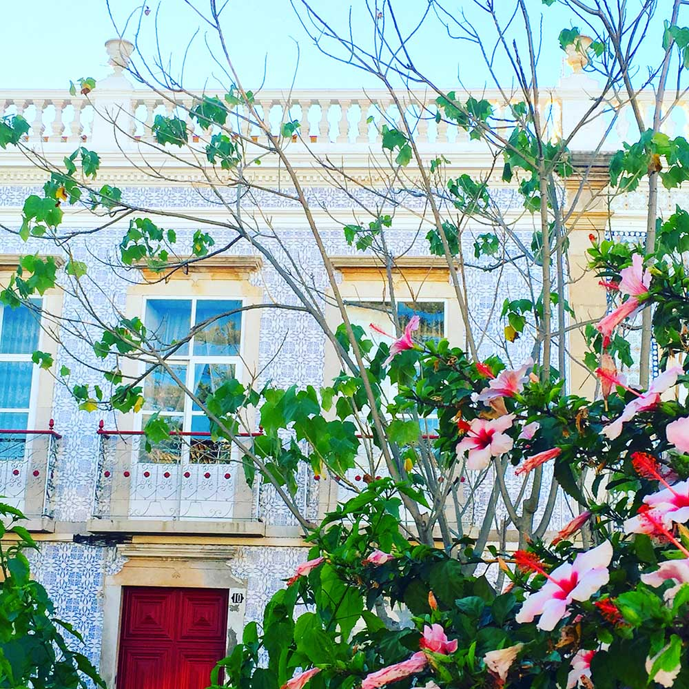 The picture-perfect town of Tavira.