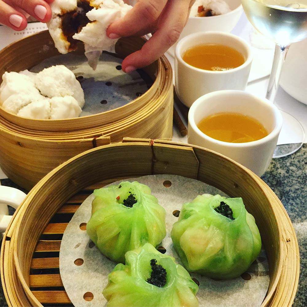 Lunch at  Dim Sum: The Art of Chinese Tidbits  in Happy Valley.