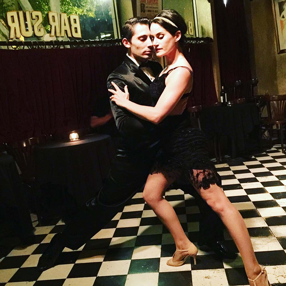 A trip to Buenos Aires wouldn't be complete without a night of tango. We chose  Bar Sur , who have famously hosted Liza Minnelli and Sean Connery, among others, for their intimate Tango performances.