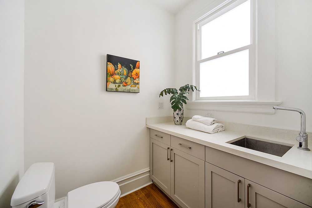 This is the ensuite laundry room adjoining Rosie's bedroom.