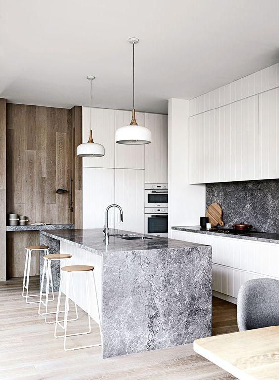 Kitchen inspiration. Image  via .