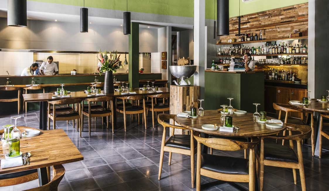 Image of Locavore Restaurant via  Travel + Leisure .