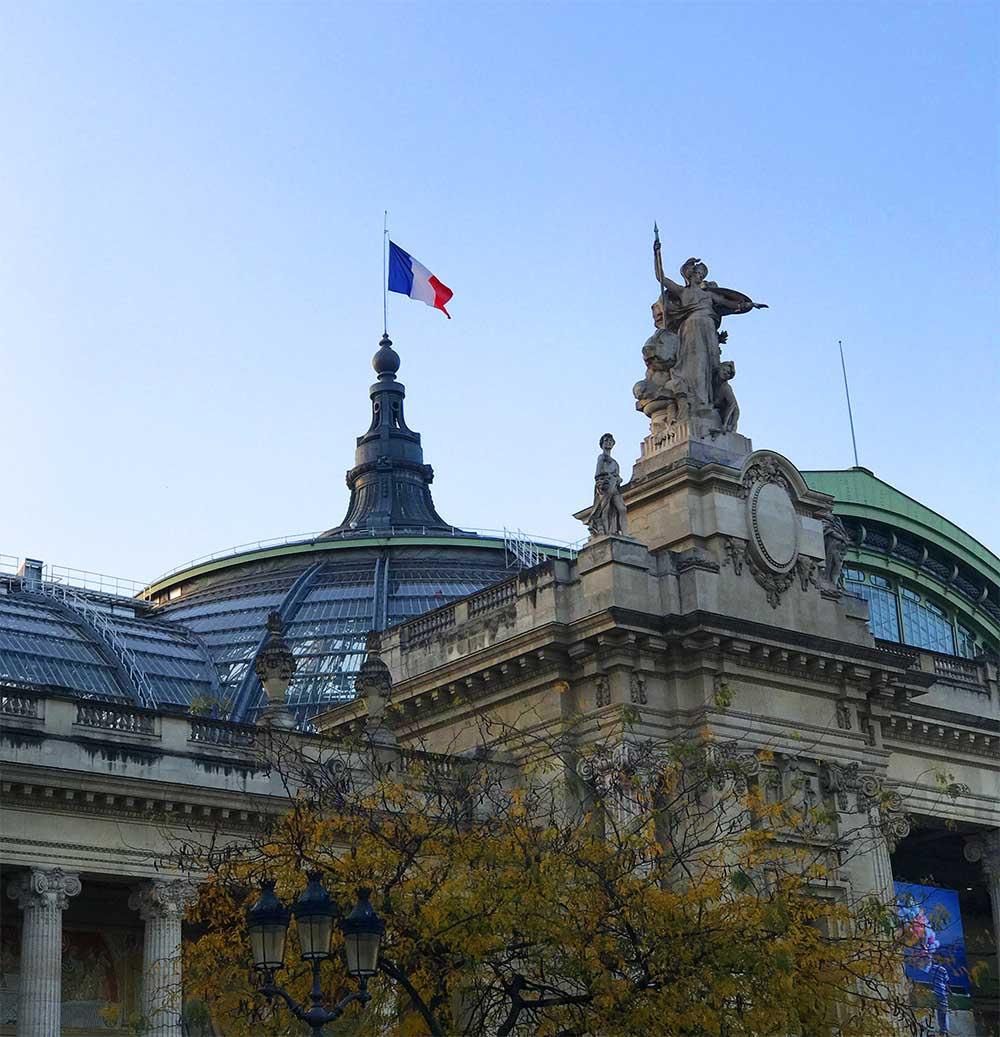 The Grand Palais des Champs-Élysées, a masterpiece of Art Nouveau.