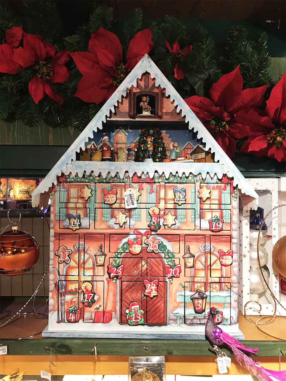 The advent calendar!