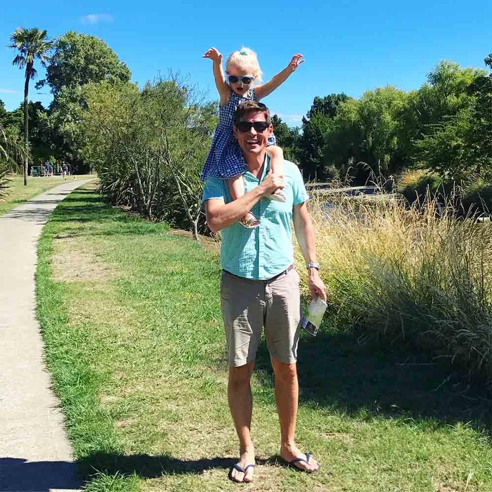 The river walk. Yay for sunshine.