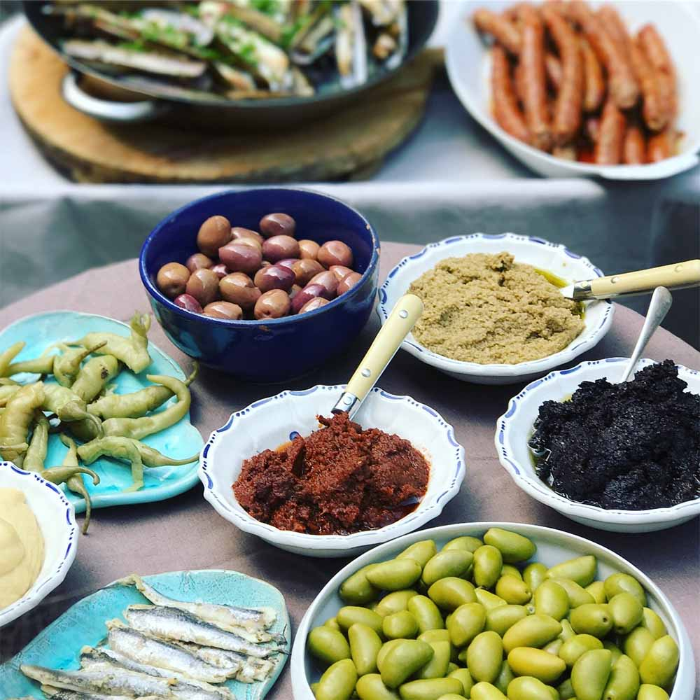Farmer's market produce.