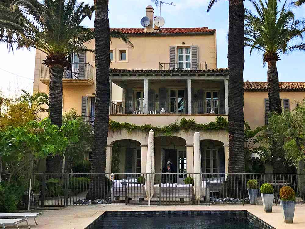 Hotel Pastis, San-Tropez.