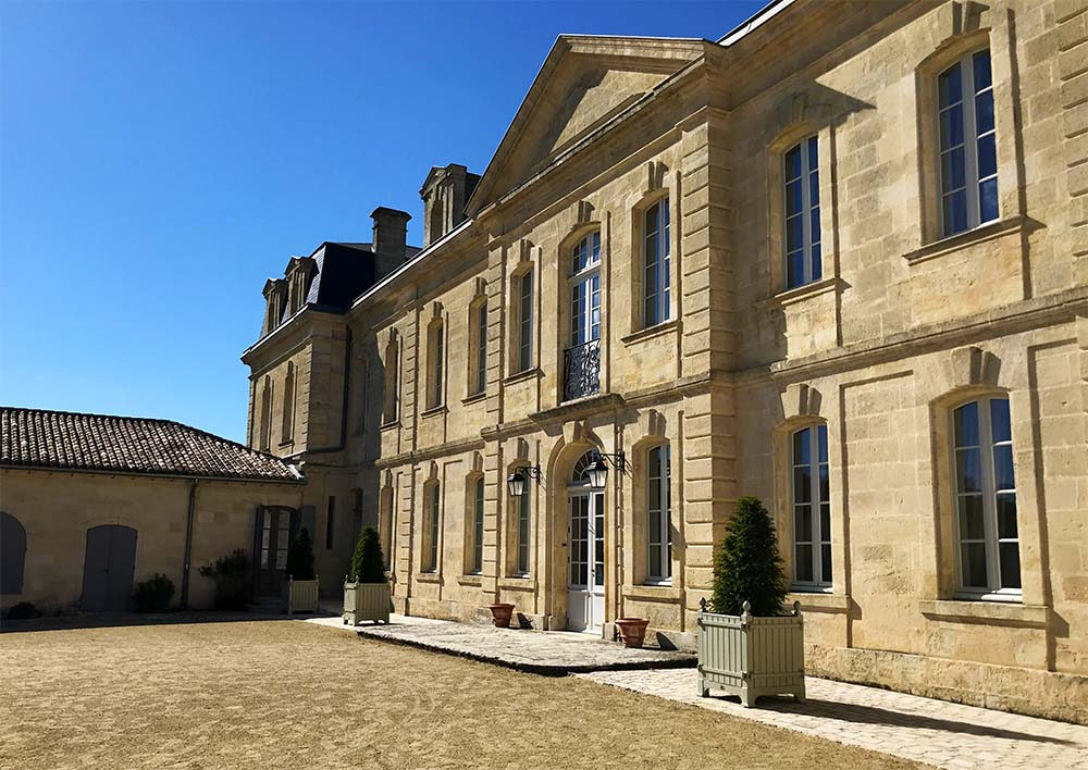The immaculate exterior of  Chateau Soutard , winemakers with a history that dates back to 1513.