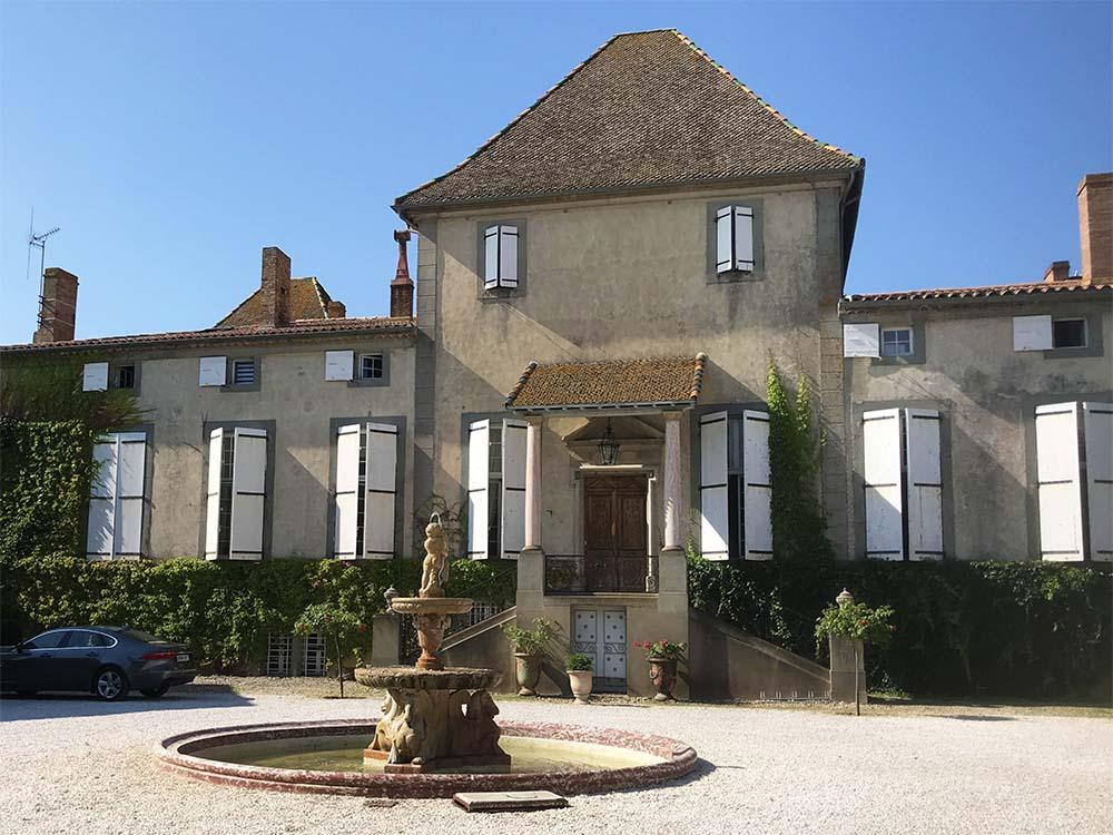 Chateau de Paraza .