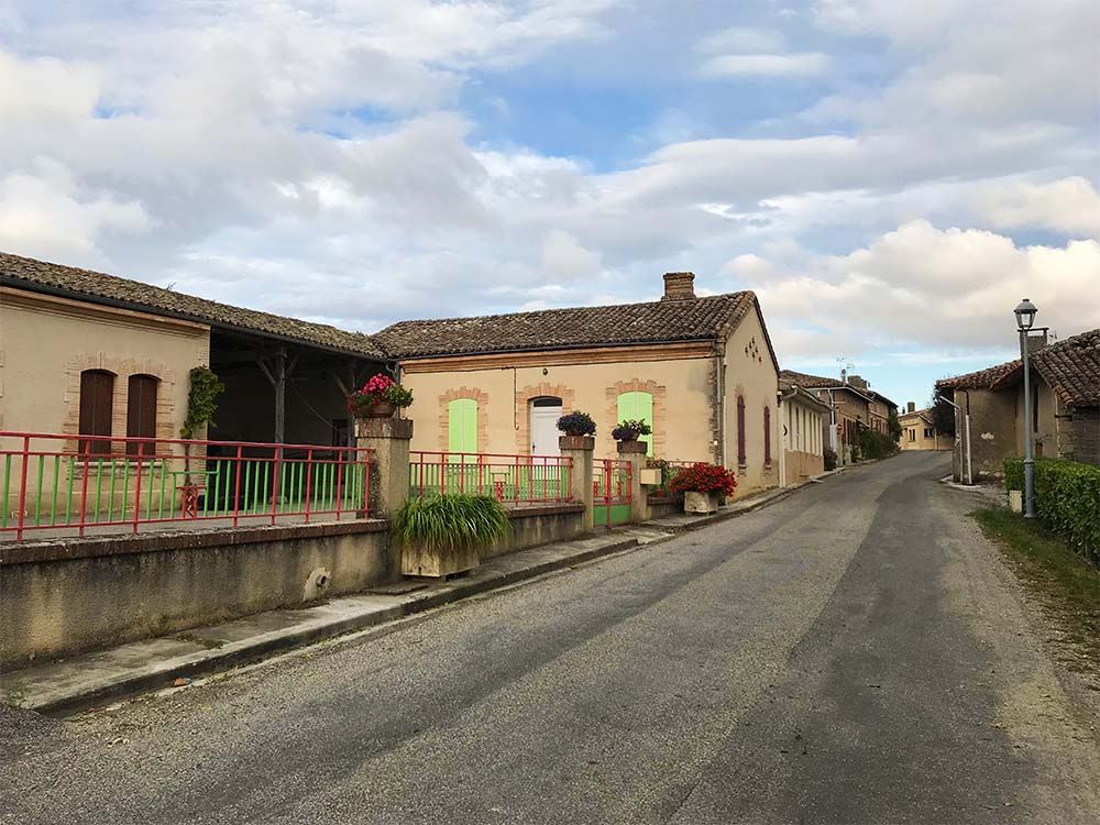 Rosie's sweet little village school. It's been running for over 200 years!