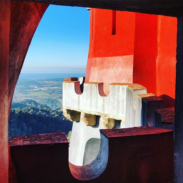 Another amazing viewing window from Pena Palace.