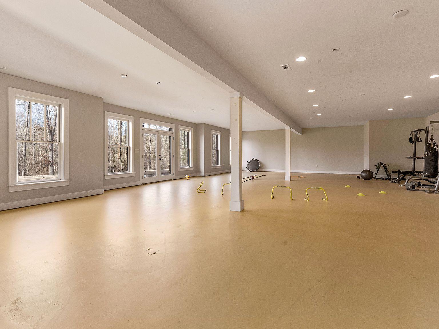 Home Gym Flooring Install