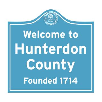 Hunterdon Road Marker