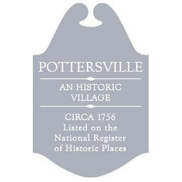 Pottersville Road Marker