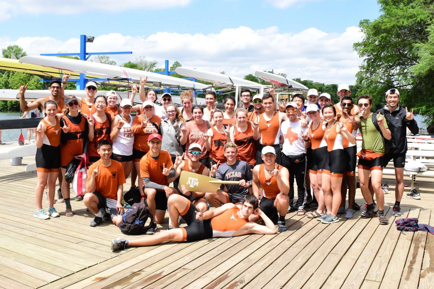 Texas Crew wins the Golden Oar competition against A&M for the fourth consecutive year as they push into this week of final preparation for SIRA!