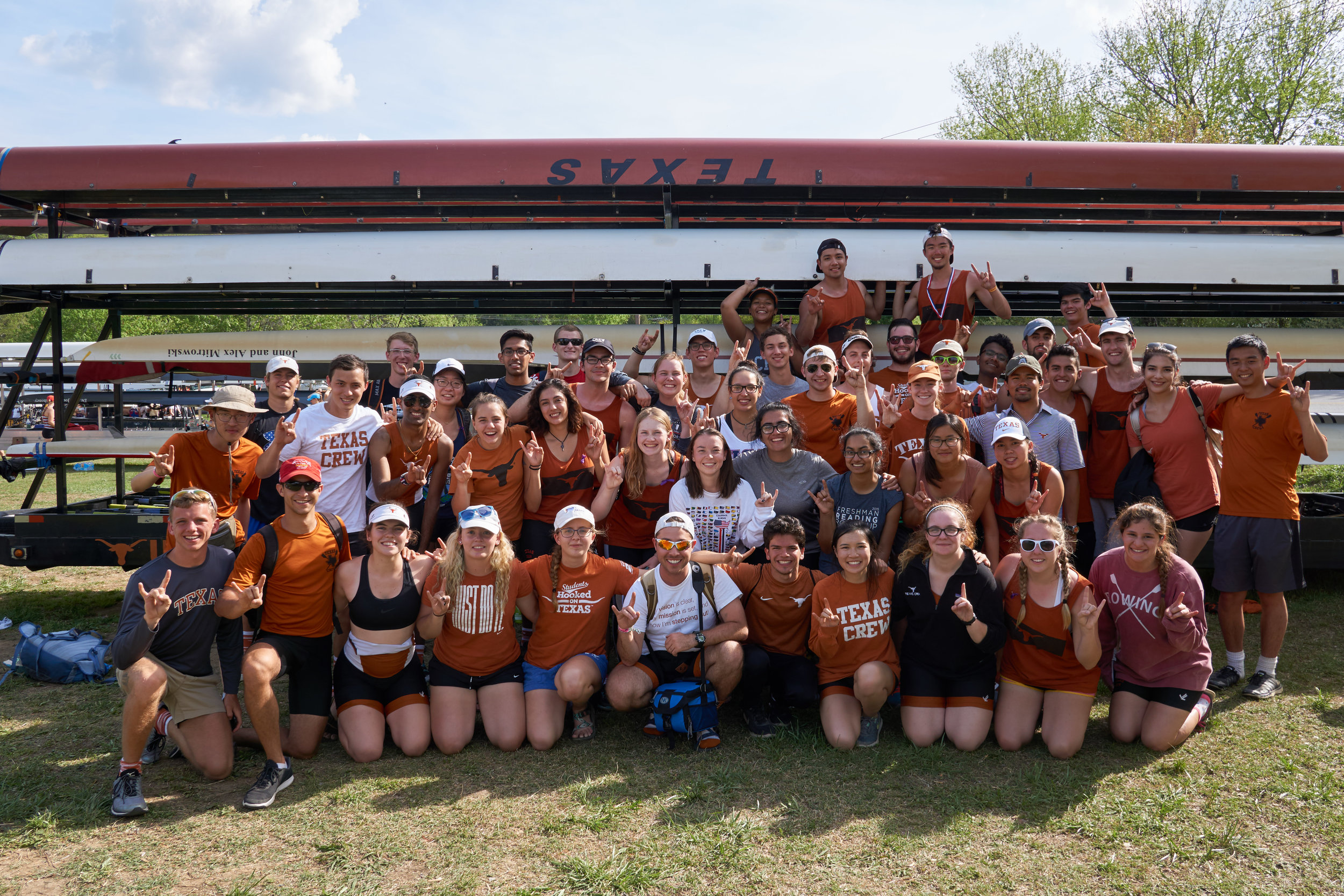 Texas Crew had 67 athletes compete at SIRA 2017 Easter weekend!