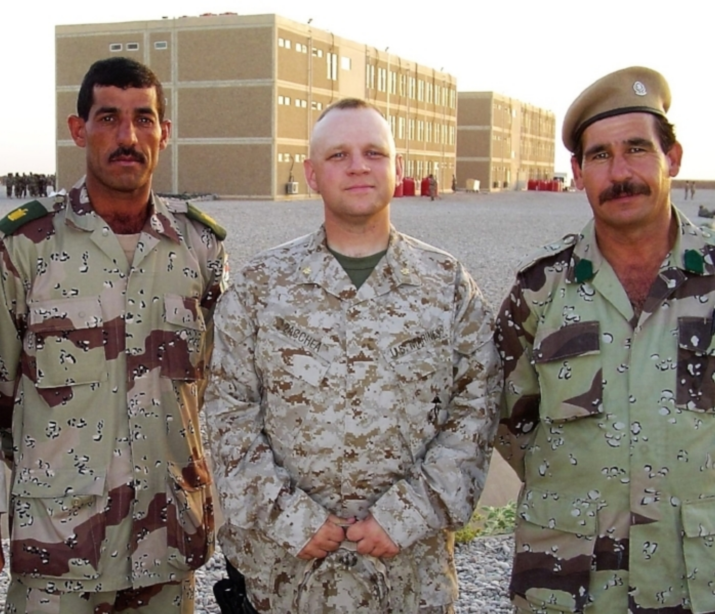 Zayn al-Jibouri, Michael Zacchea and Abdel-ridha Gibrael. An Arab, an American and a Kurd with a shared mission in the most dangerous place on earth.
