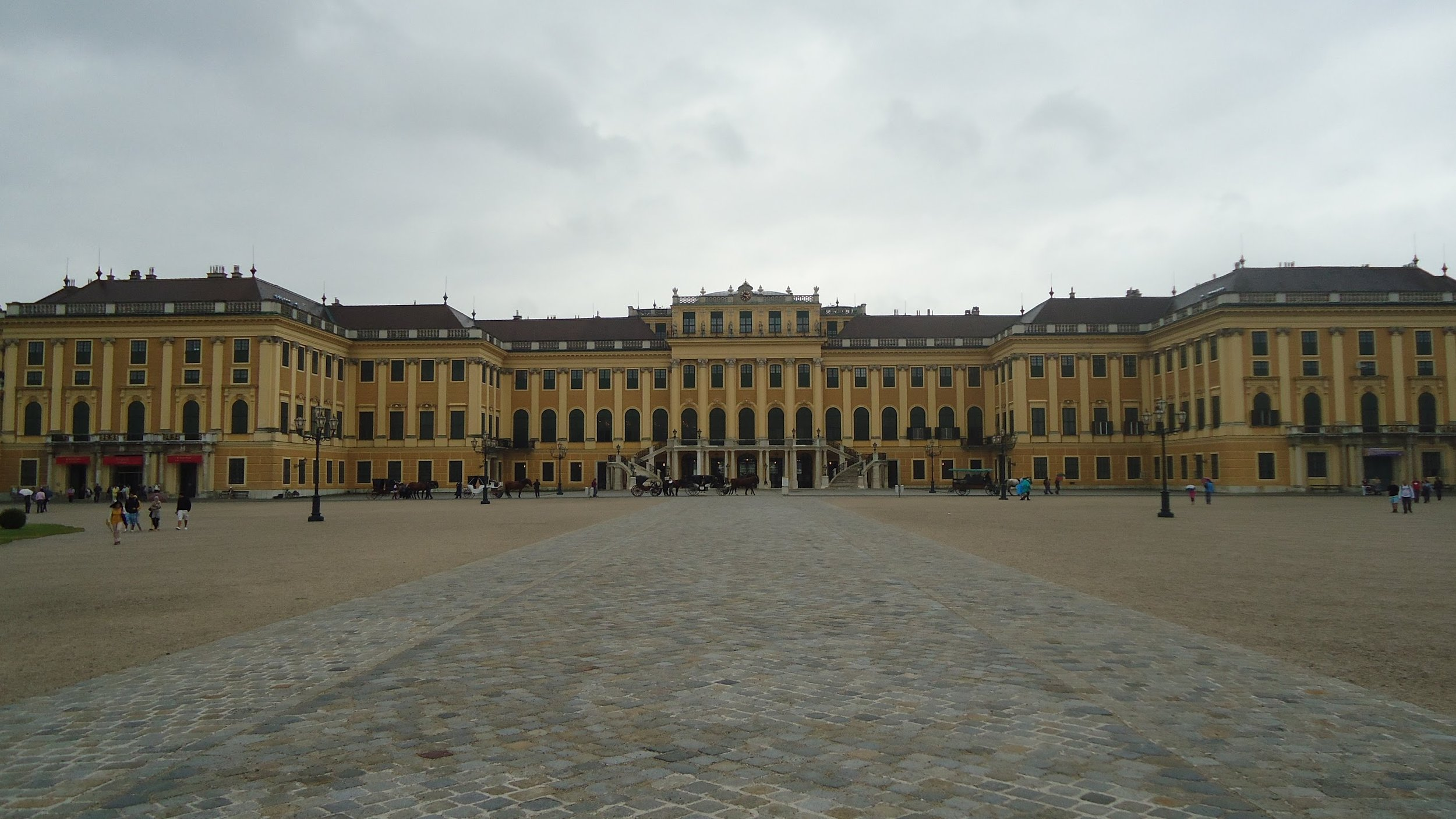 Everyone gets one of these in Austria, I'm told. Schönbrunn Palace