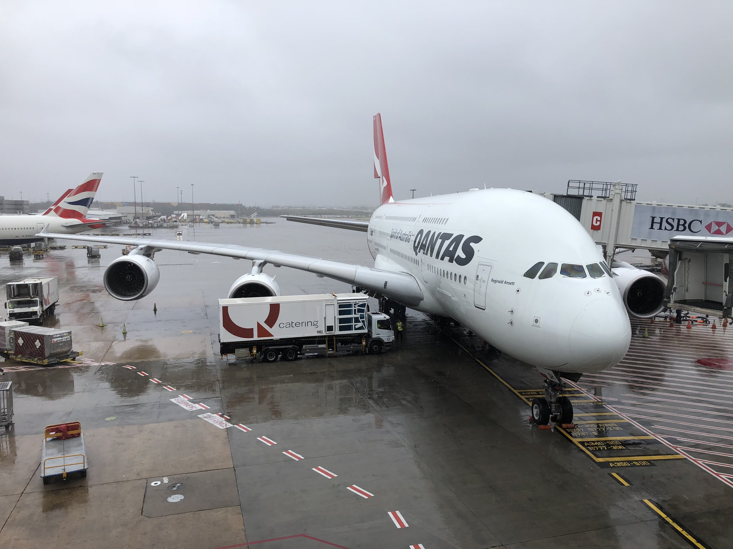 Qantas could fill 80 747s with the trash they produce each year !