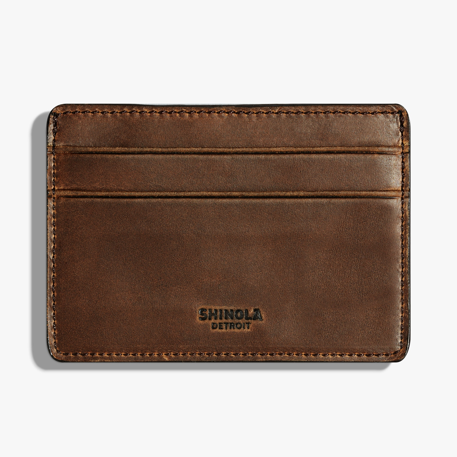 Classic  and  slim for dad. Wallets by  Shinola .