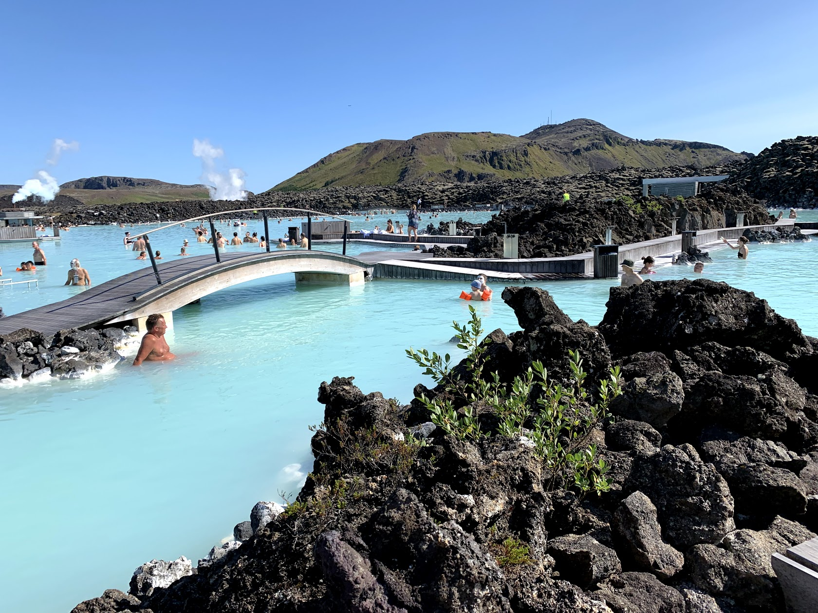 The picturesque side of Iceland's Blue Lagoon