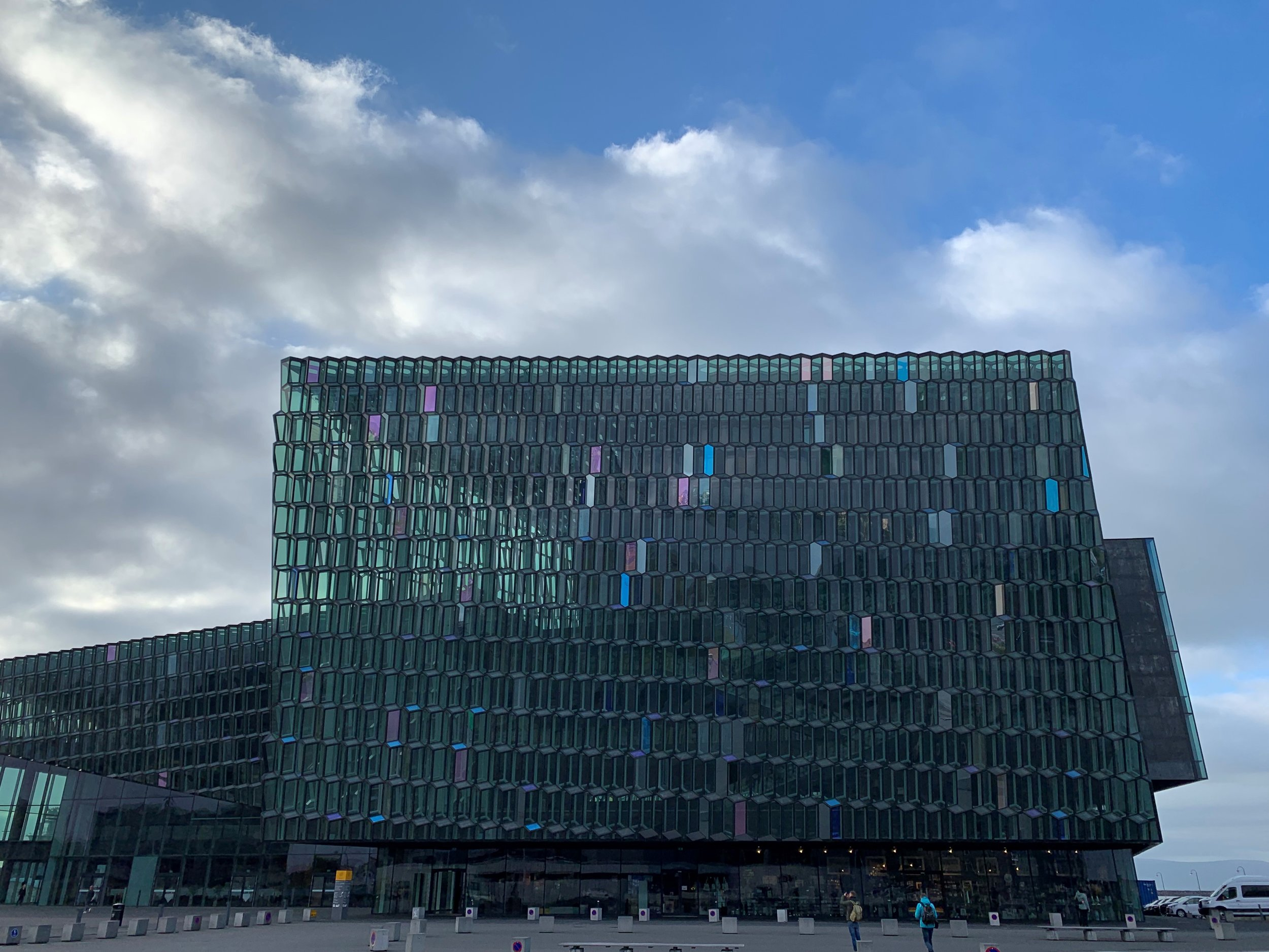 Maybe Bjork will be playing at the Harpa tonight?