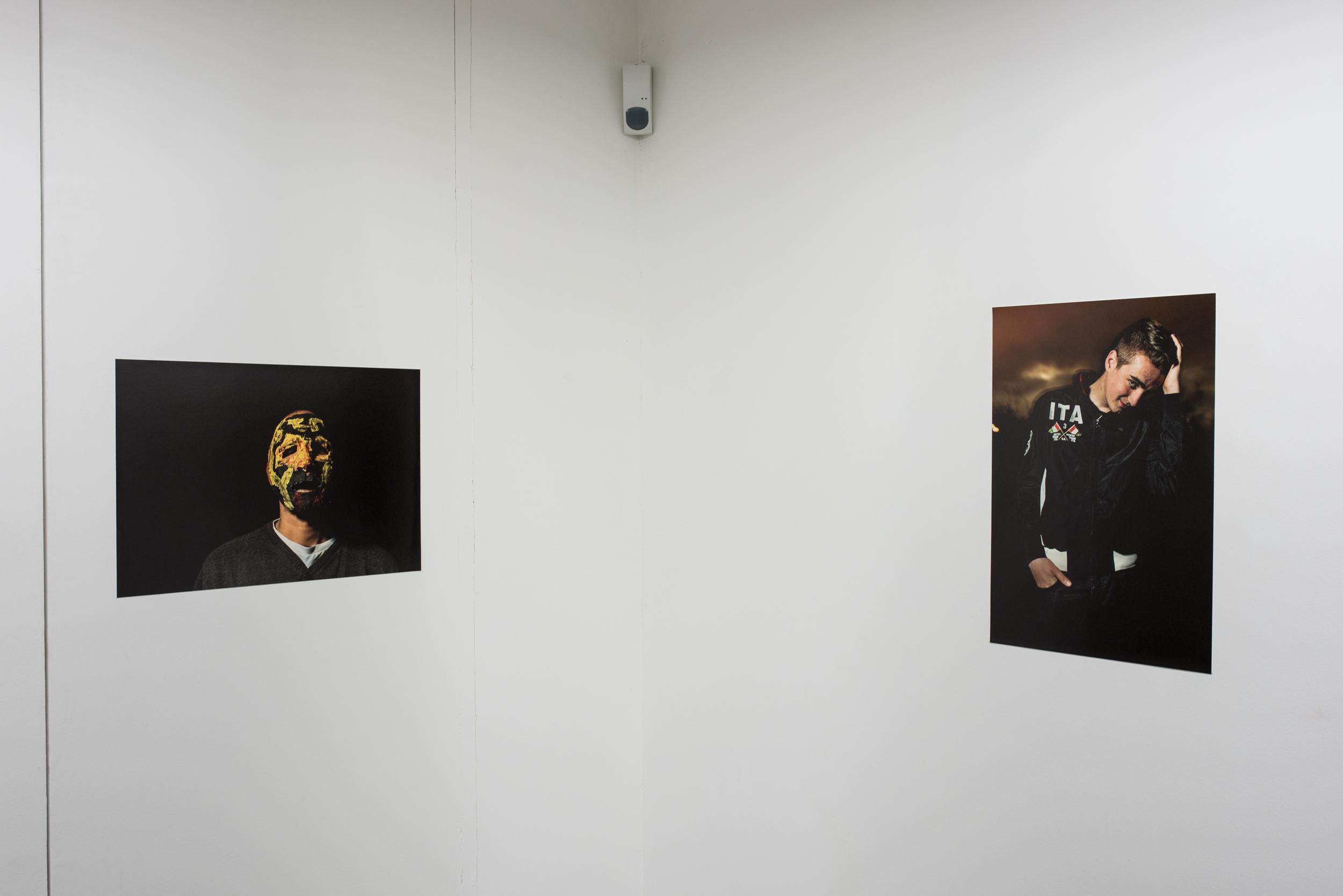 Wesh la Brèche exhibit at the CACP Vila Pérochon - Niort, France 2015