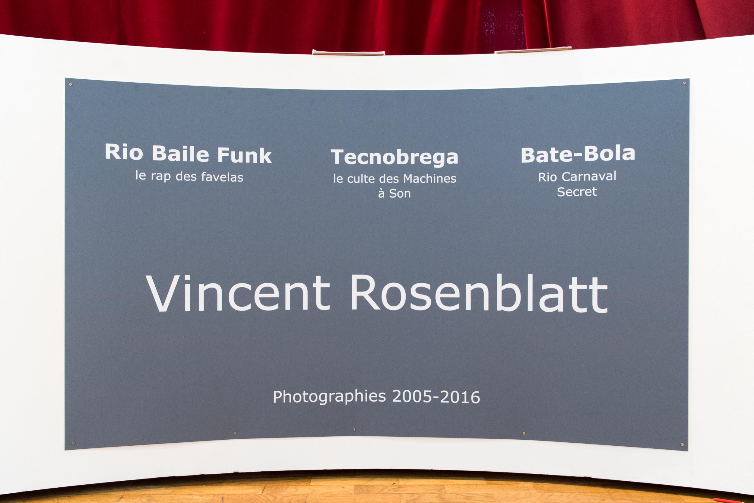 Exposition Vincent Rosenblatt à l'Espace Michel Simon - 19 au 26 Novembre 2016 à Noisy-le-Grand