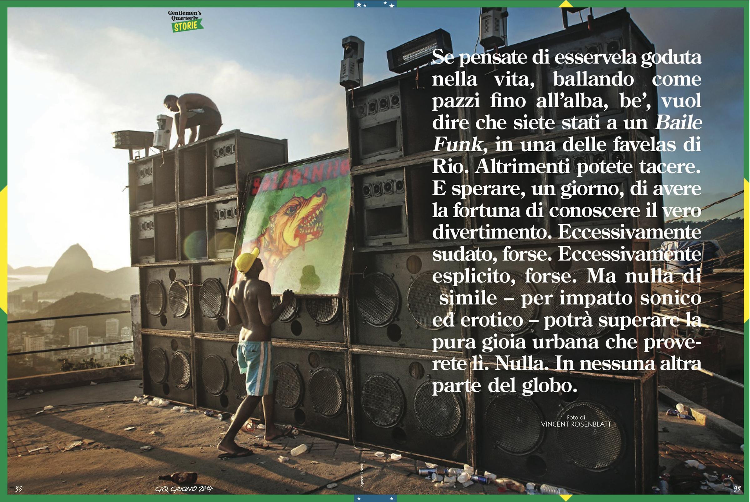 Revista GQ edi��o Italia de junho 2O14