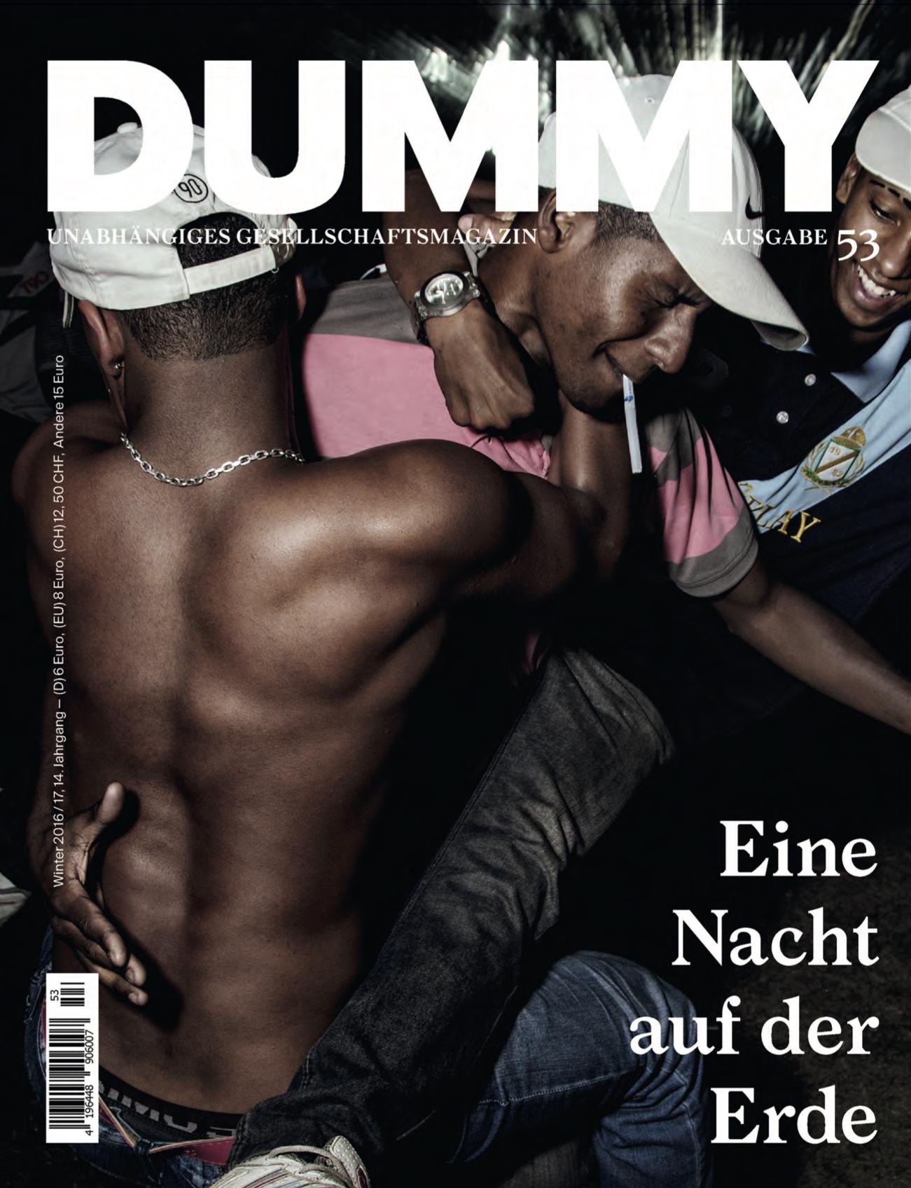 """Dummy Magazin n�53 """"Nacht"""""""