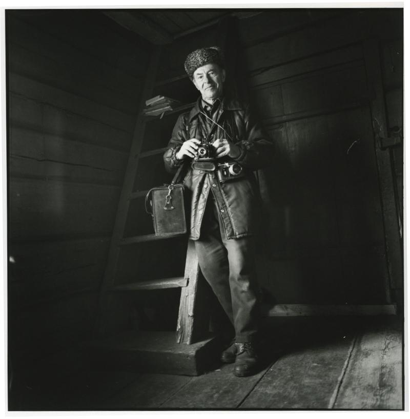 Viktor, Siberian Pole & photograper. Un village en Pologne.