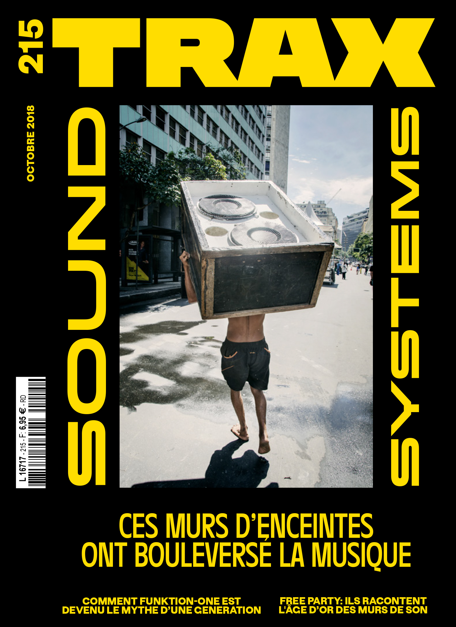Trax Magazine - France - Cover photo ��Vincent Rosenblatt