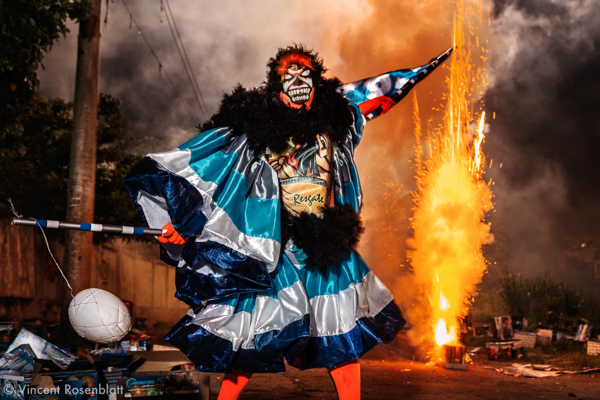 """Havita"" group of Bate-Bola, Oswaldo Cruz, North Zone of Rio de Janeiro, Carnival 2018."