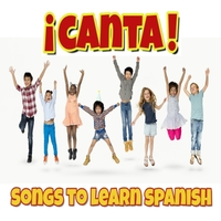 ¡Canta! Songs to Learn Spanish - Learn Spanish with these fun, catchy songs that repeat vocabulary clearly. Active play opportunities are embedded in each song. Children 0+ and adults alike will love these songs. Perfect for the classroom, homeschool or just to play in the car! Created by Meredith Kaunitz, music by Jonathon Lynch.Buy the album here.