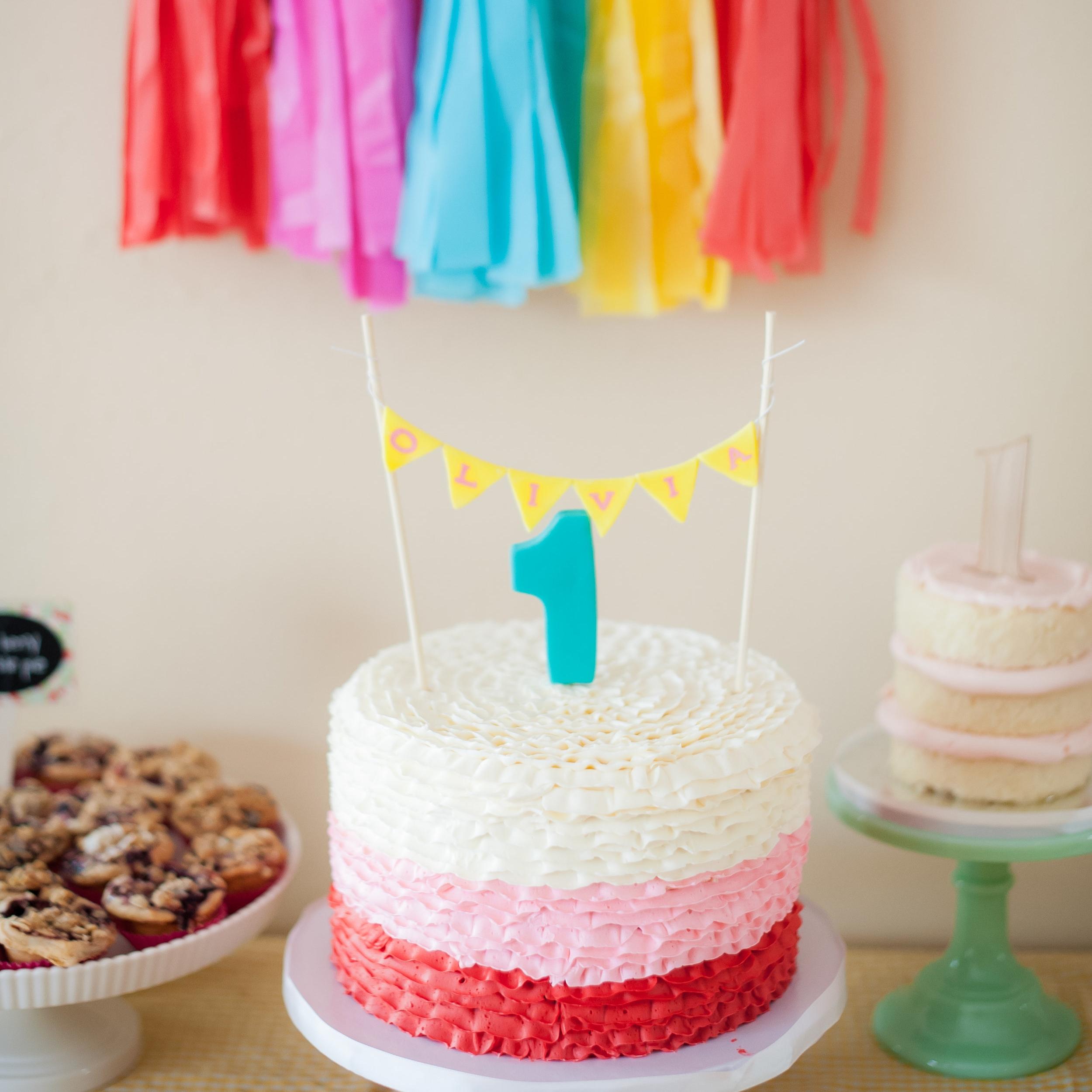 Olivia Madeleine Picnic First Birthday  Private Residence