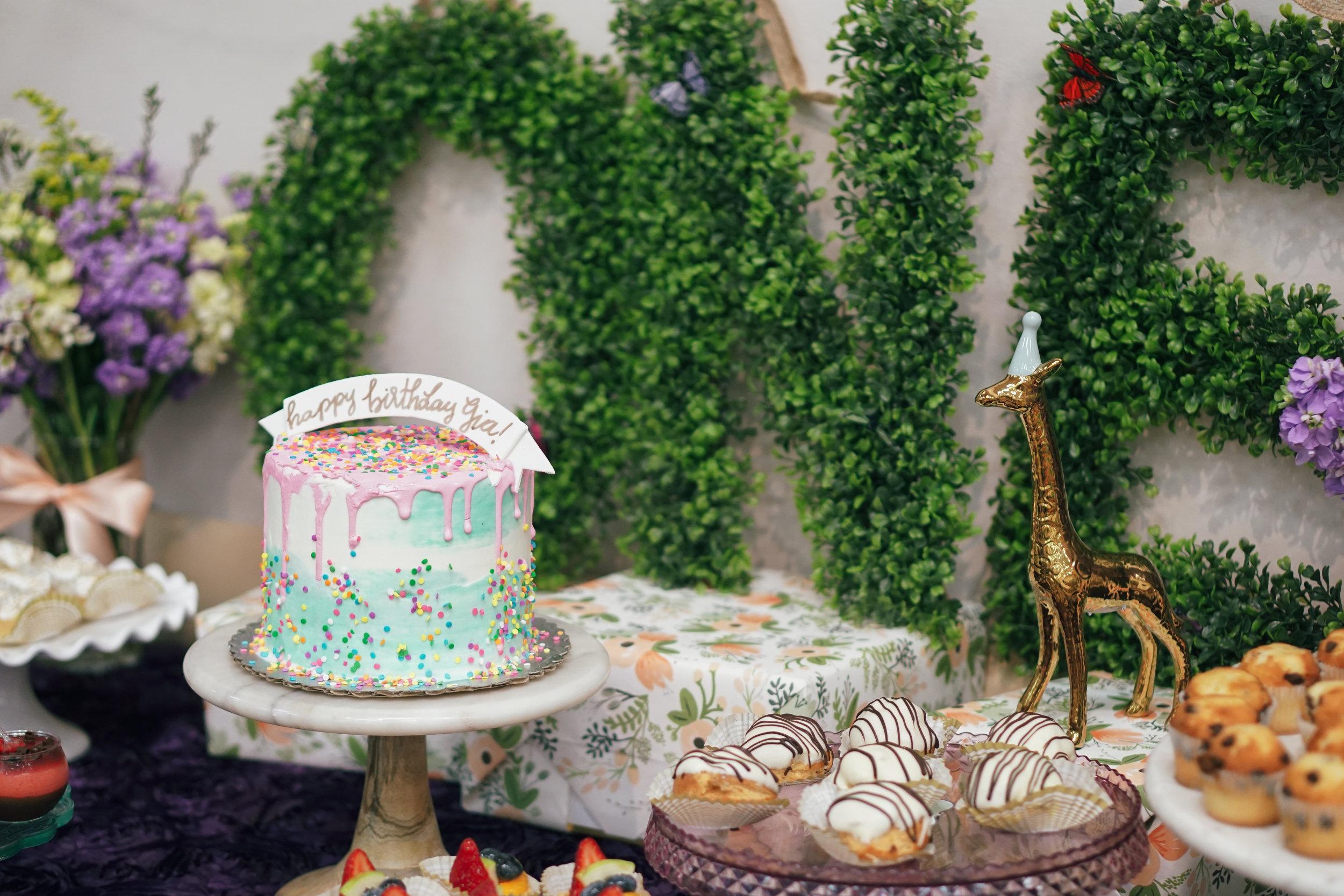 Gianna Springtime First Birthday  Cypress Community Center