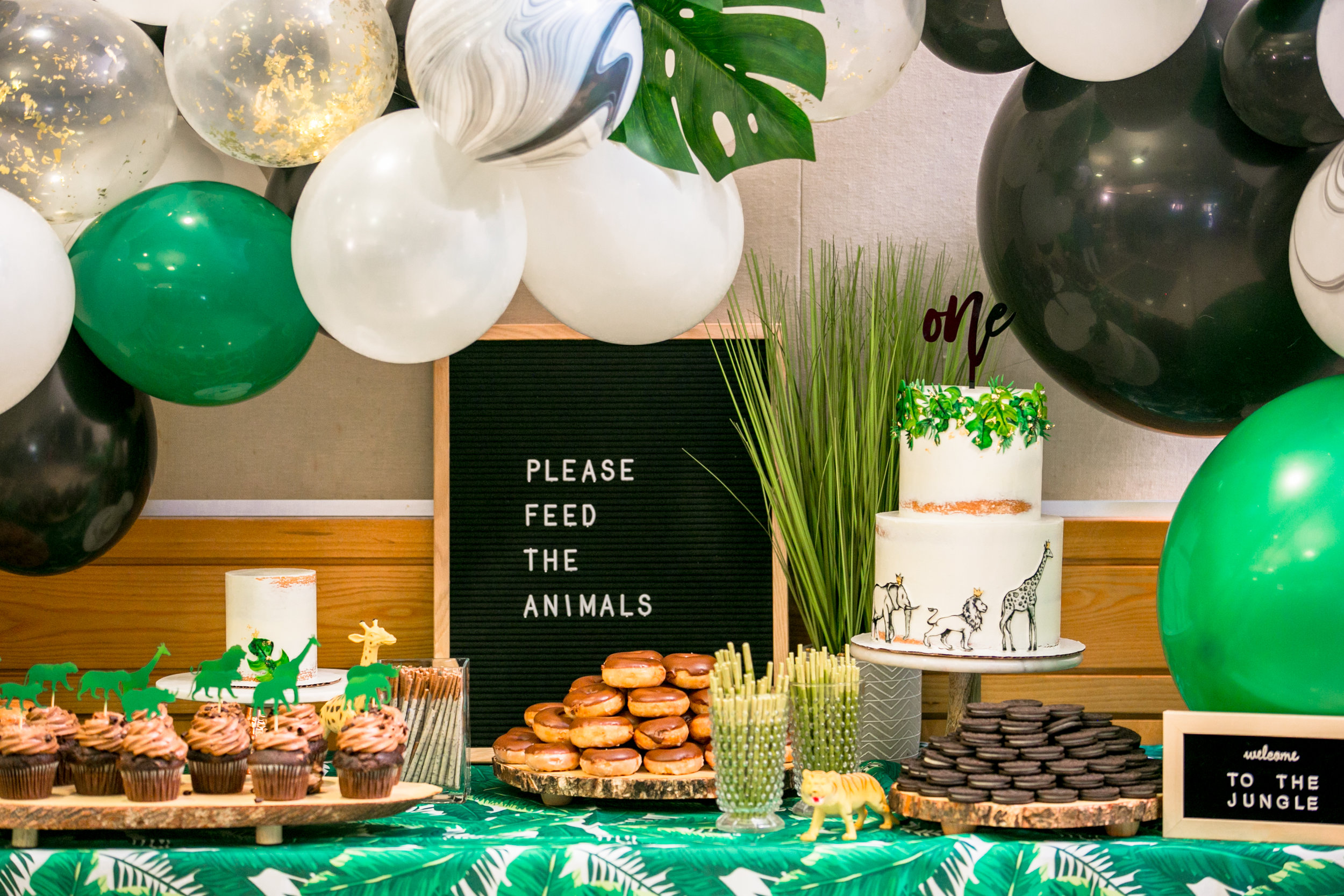 Dominic's Jungle Inspired First Birthday Cerritos Park East