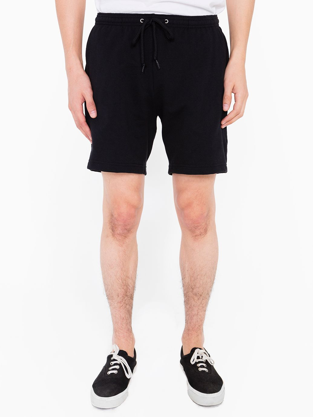 CALIFORNIA FLEECE GYM SHORT (BLACK)