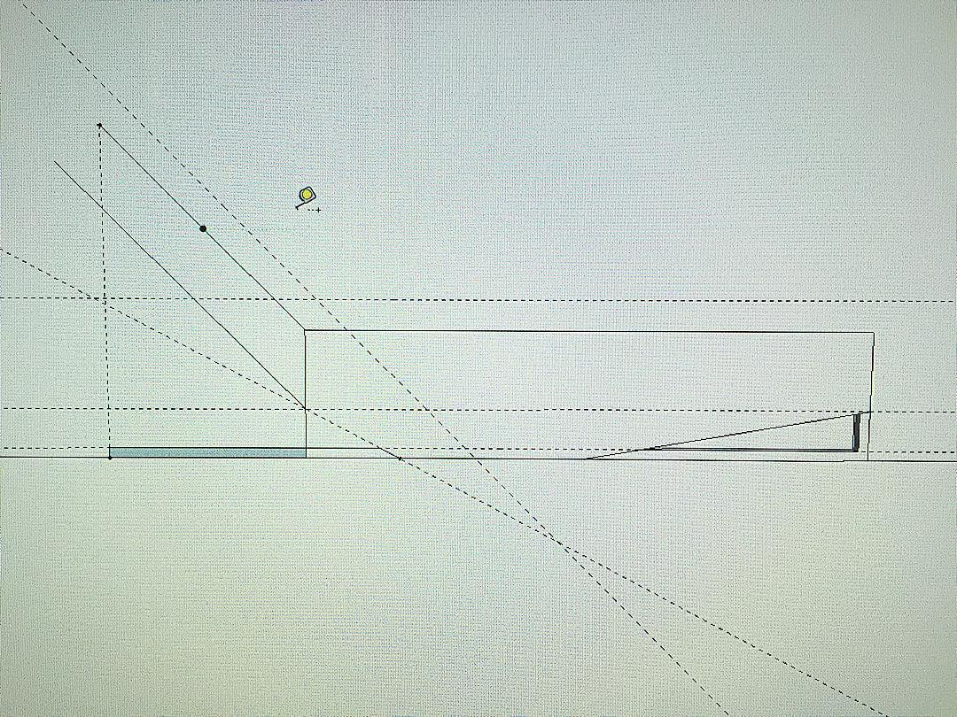 Figuring it out. #design #furnituredesign #cad #chaise #wip