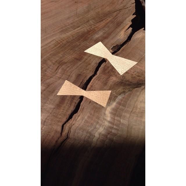 Some Maple keys in some Claro Walnut. #woodworking