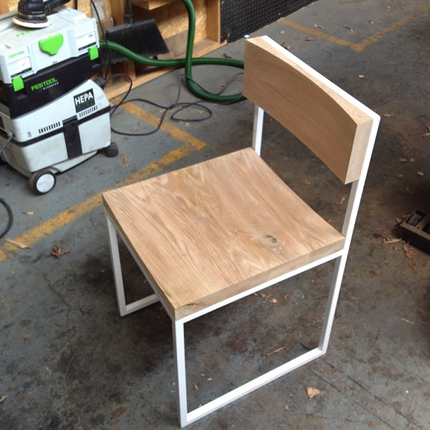 Prototype 1 of 3, test fit done and ready for final sanding and finish.