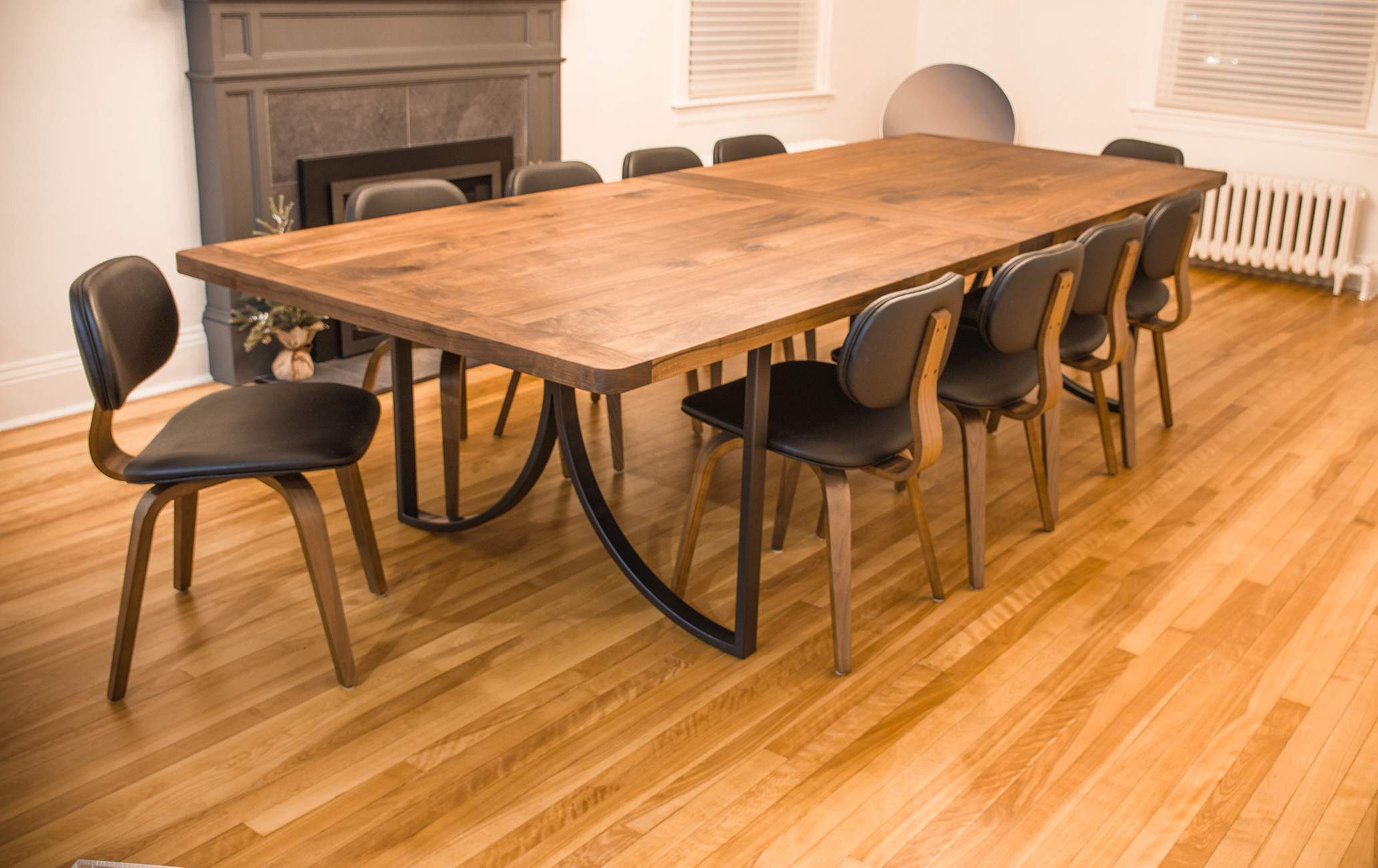 10' Walnut Dining Table