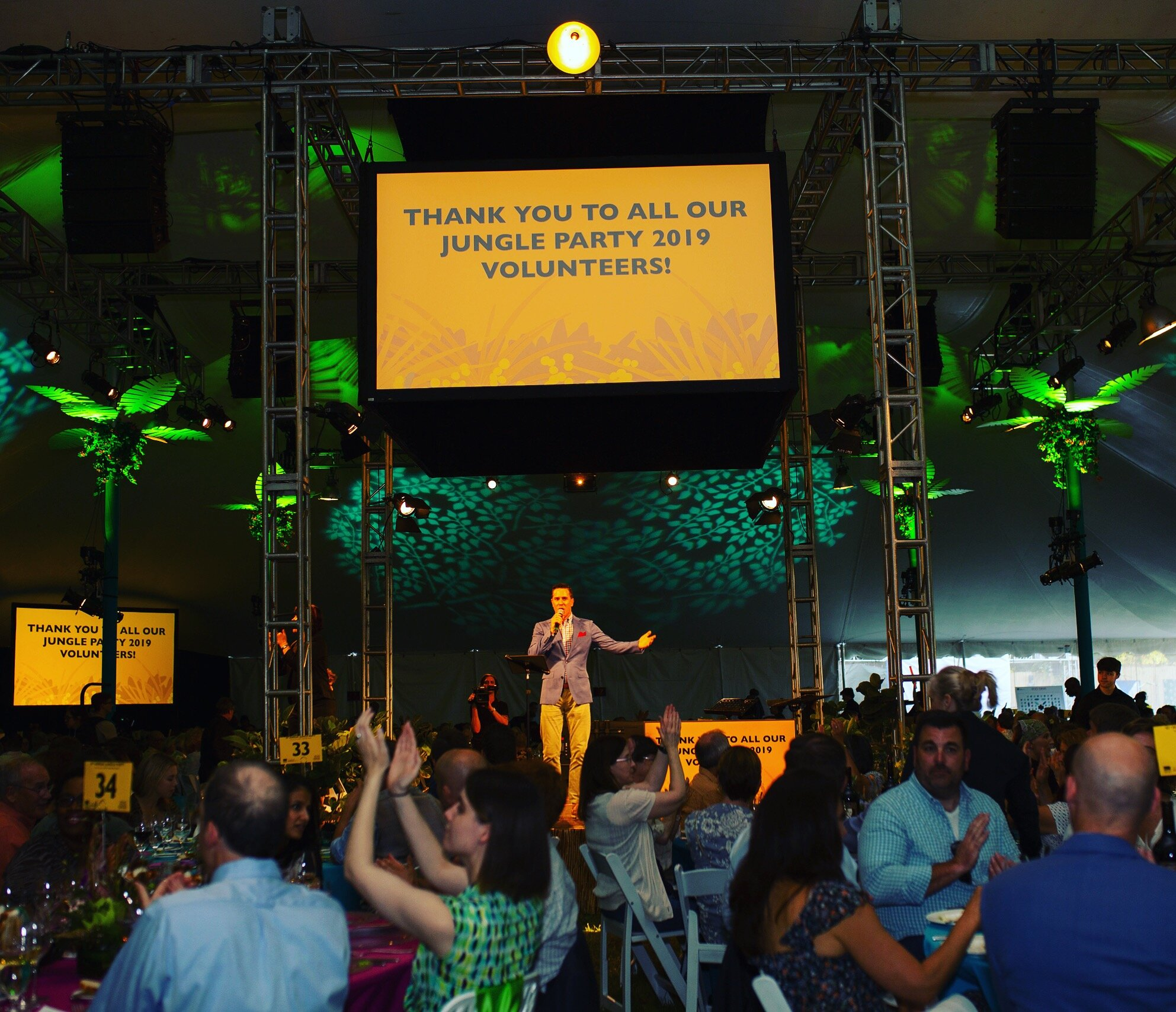 Matt hosts 2018, 2019 Jungle Party at Woodland Park Zoo in Seattle helping raise more than $4 million over the two years.