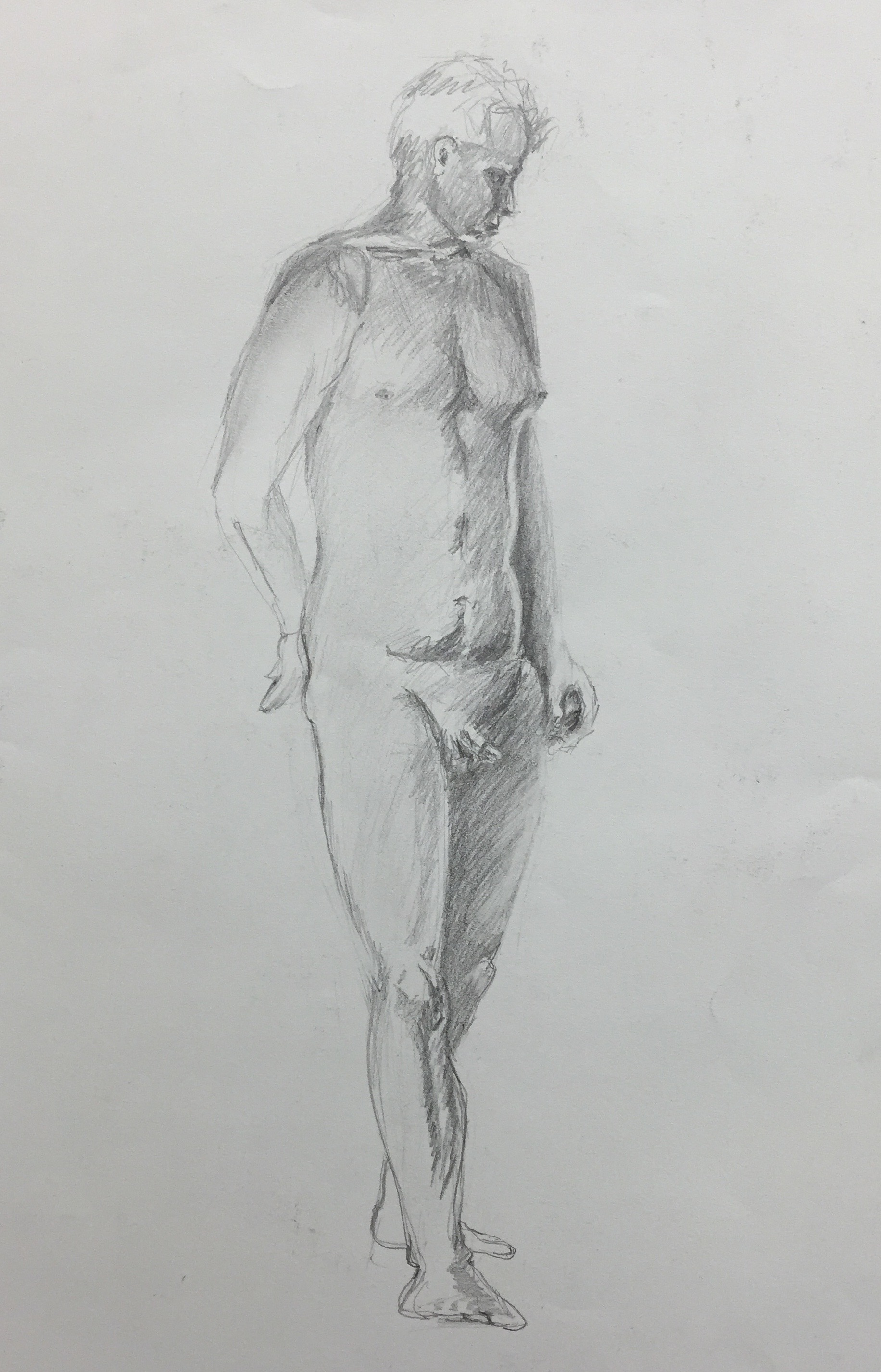 Male Standing Figure Study