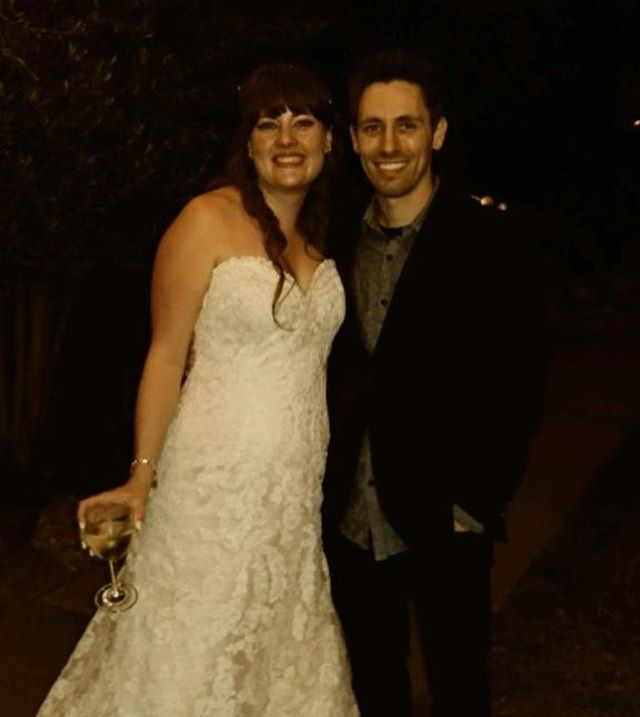 Congrats to my childhood bestie on her wonderful marriage. I wish you the best, Theresa and Zac!