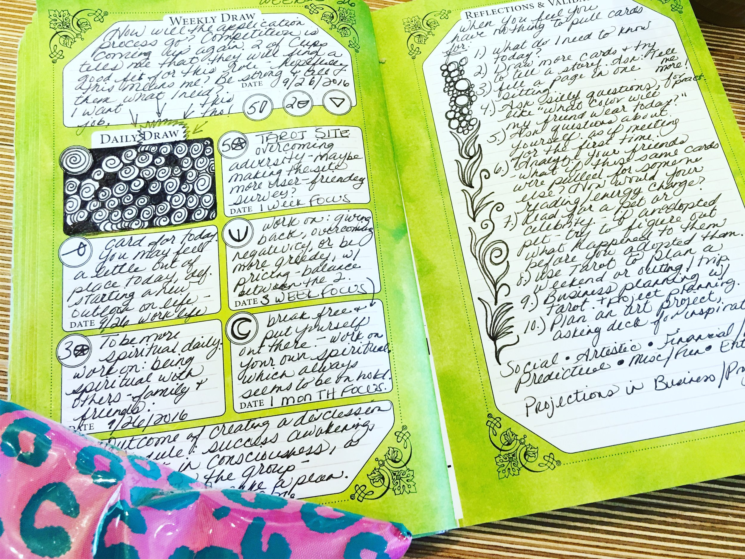 Willows East Intuitive Journal
