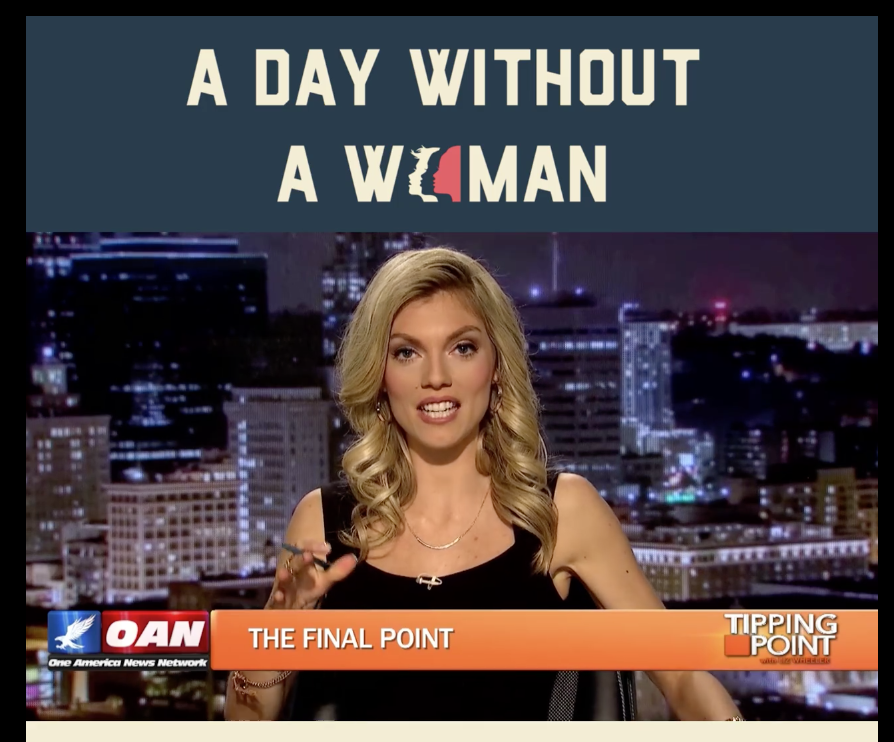 Tipping Point on OAN: The Truth Behind 'A Day Without A Woman'