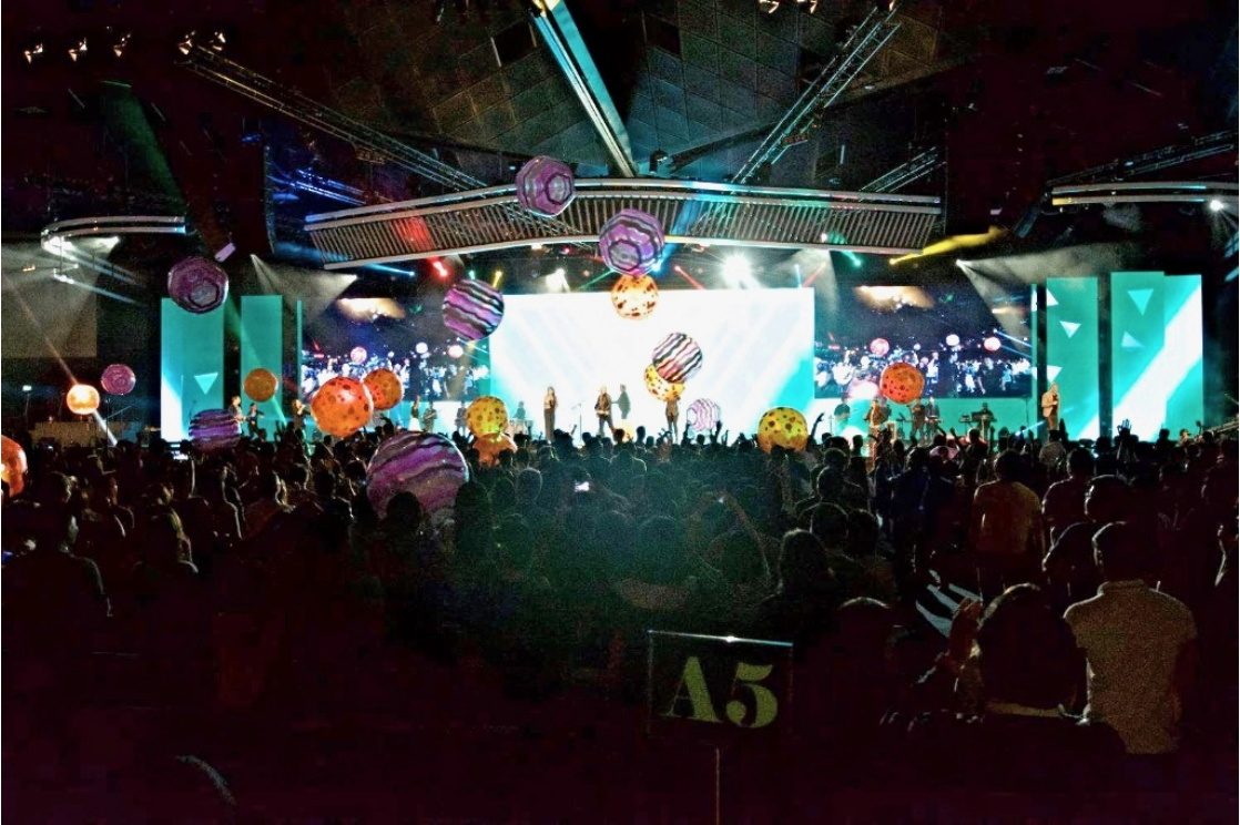 Pictured:Every Nation Church,Singapore's Momentum Convergence, 2015